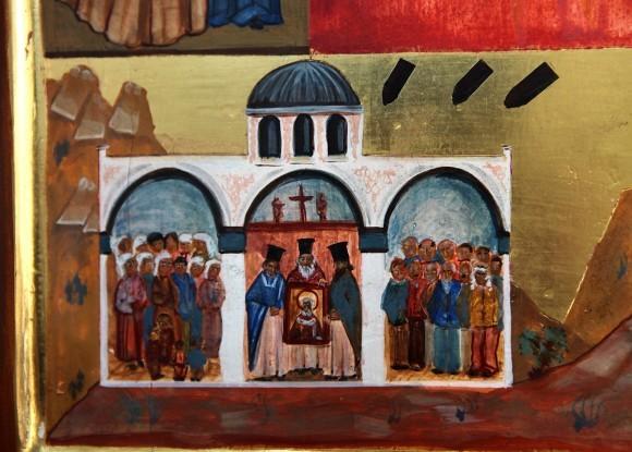 Клеймо новой иконы свт. Николая