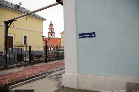 Комплекс зданий Якутской семинарии располагается на улице Ленина