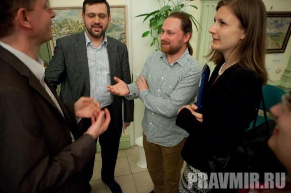 Жан-Франсуа Тири, Владимир Легойда, Сергей Чапнин, Анна Данилова