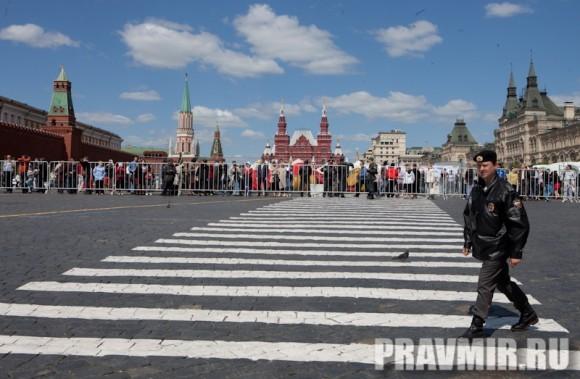 Молебен на Красной площади у Иверской. Фото Юлии Маковейчук (1)