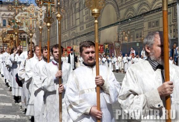 Молебен на Красной площади у Иверской. Фото Юлии Маковейчук (3)