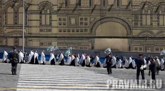 Молебен на Красной площади у Иверской. Фото Юлии Маковейчук (4)