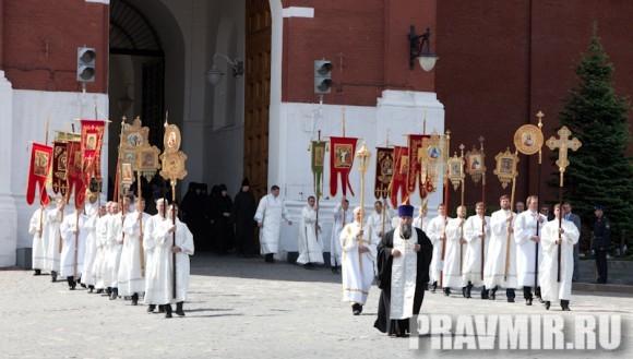 Молебен на Красной площади у Иверской. Фото Юлии Маковейчук (8)