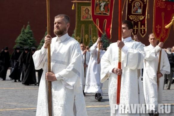 Молебен на Красной площади у Иверской. Фото Юлии Маковейчук (10)