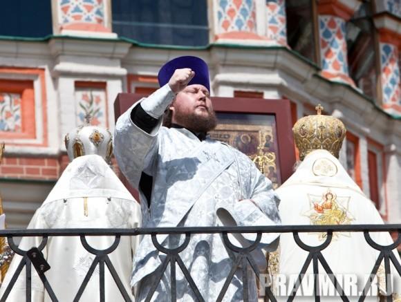Молебен на Красной площади у Иверской. Фото Юлии Маковейчук (21)
