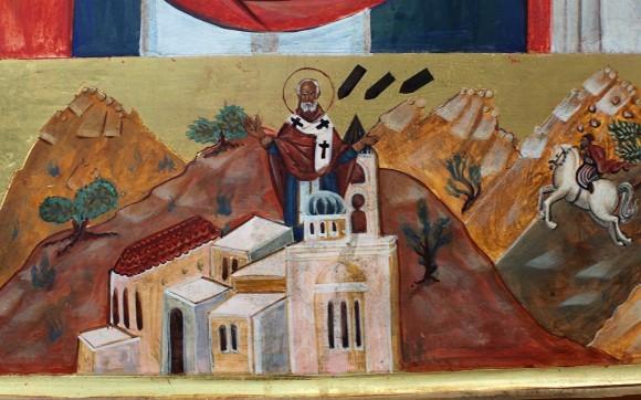 Клеймо новой иконы свт. Николая, Бейт-Джала