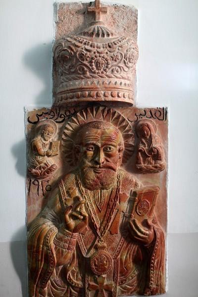 Мраморное изображение свт. Николая, Бейт-Джала