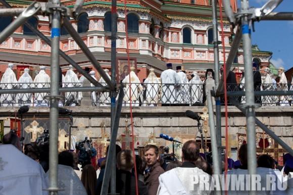 Молебен на Красной площади у Иверской. Фото Юлии Маковейчук (25)