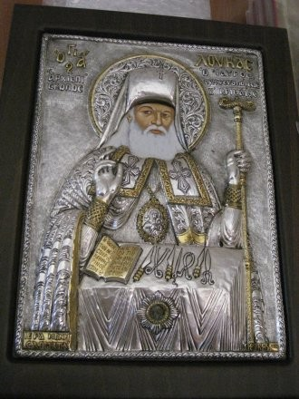 Святитель Лука Войно-Ясенецкий. Икона