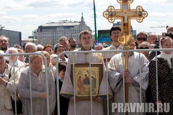 Молебен на Красной площади у Иверской. Фото Юлии Маковейчук (31)