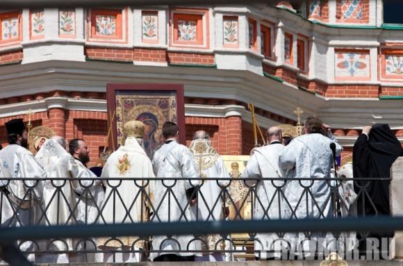Молебен на Красной площади у Иверской. Фото Юлии Маковейчук (35)