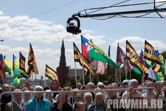 Молебен на Красной площади у Иверской. Фото Юлии Маковейчук (40)