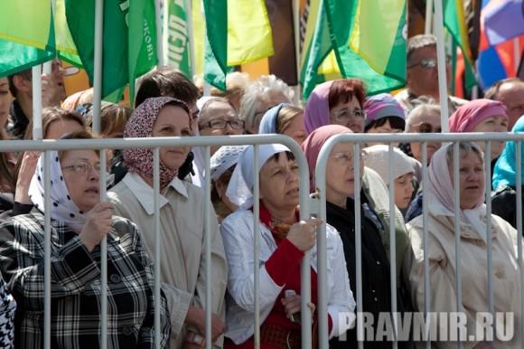 Молебен на Красной площади у Иверской. Фото Юлии Маковейчук (43)