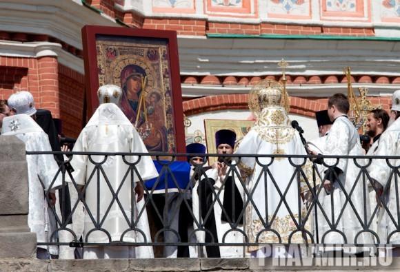 Молебен на Красной площади у Иверской. Фото Юлии Маковейчук (45)