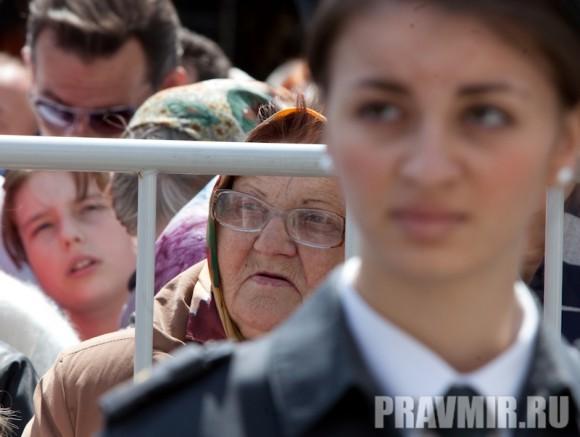 Молебен на Красной площади у Иверской. Фото Юлии Маковейчук (51)