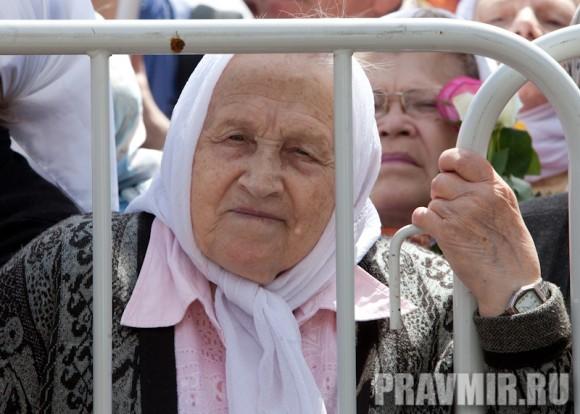 Молебен на Красной площади у Иверской. Фото Юлии Маковейчук (57)