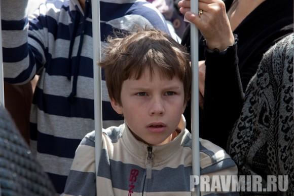 Молебен на Красной площади у Иверской. Фото Юлии Маковейчук (58)