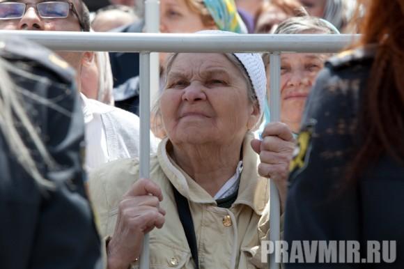 Молебен на Красной площади у Иверской. Фото Юлии Маковейчук (59)
