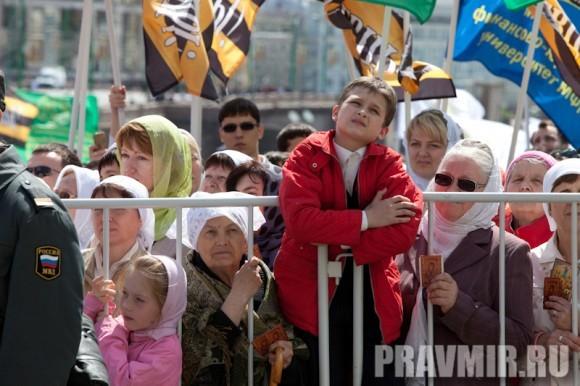 Молебен на Красной площади у Иверской. Фото Юлии Маковейчук (71)