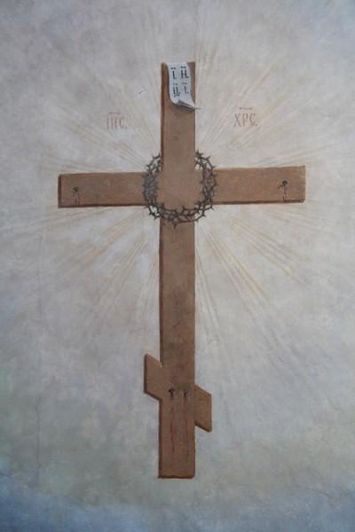 Фрагмент росписи Благовещенского храма
