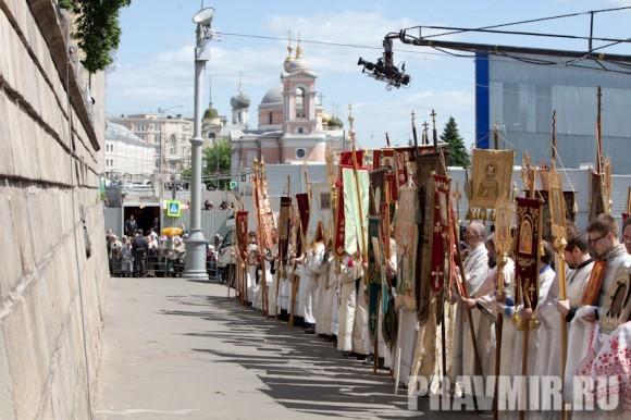 Молебен на Красной площади у Иверской. Фото Юлии Маковейчук (75)