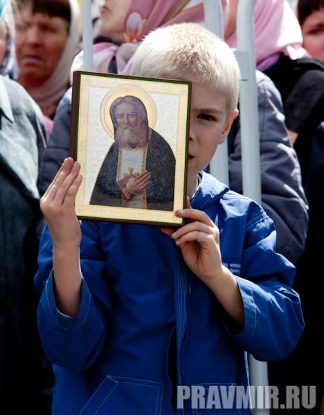 Молебен на Красной площади у Иверской. Фото Юлии Маковейчук (82)