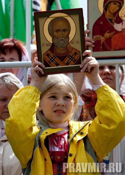 Молебен на Красной площади у Иверской. Фото Юлии Маковейчук (83)