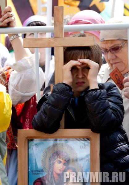 Молебен на Красной площади у Иверской. Фото Юлии Маковейчук (84)