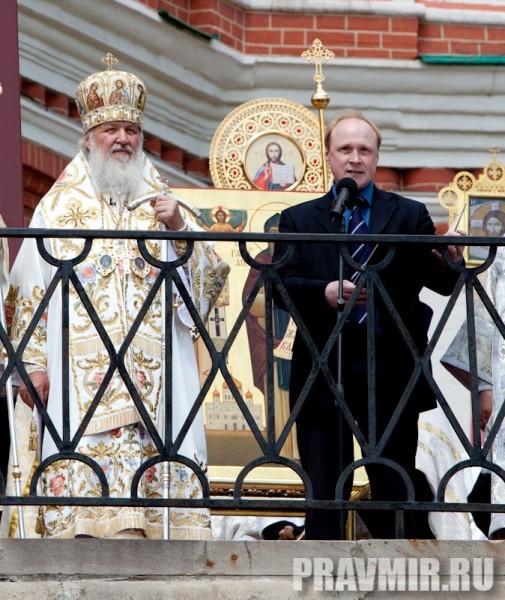 Молебен на Красной площади у Иверской. Фото Юлии Маковейчук (85)