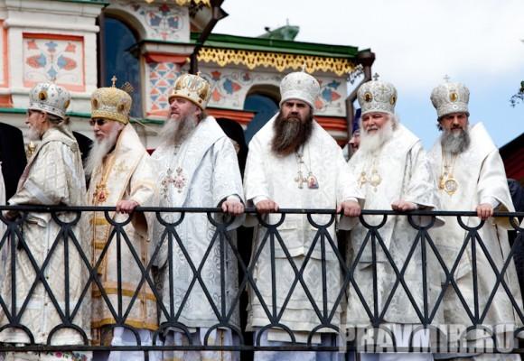 Молебен на Красной площади у Иверской. Фото Юлии Маковейчук (86)