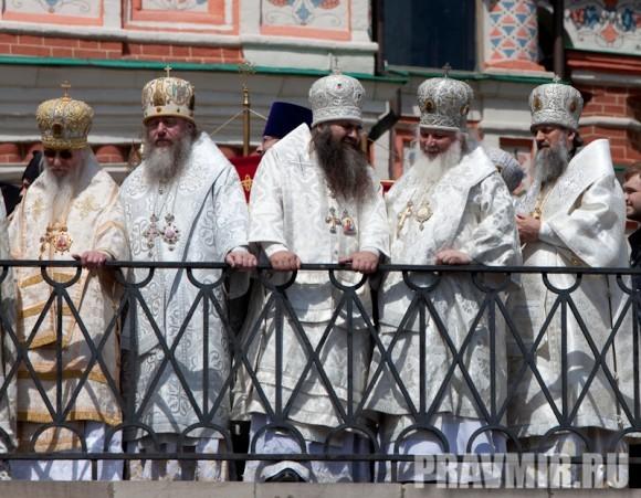 Молебен на Красной площади у Иверской. Фото Юлии Маковейчук (89)