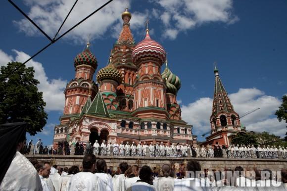 Молебен на Красной площади у Иверской. Фото Юлии Маковейчук (94)