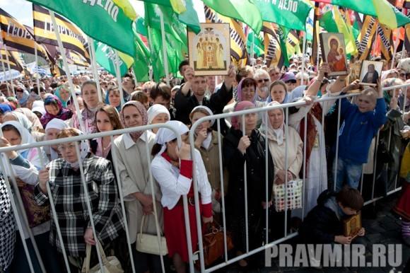 Молебен на Красной площади у Иверской. Фото Юлии Маковейчук (95)