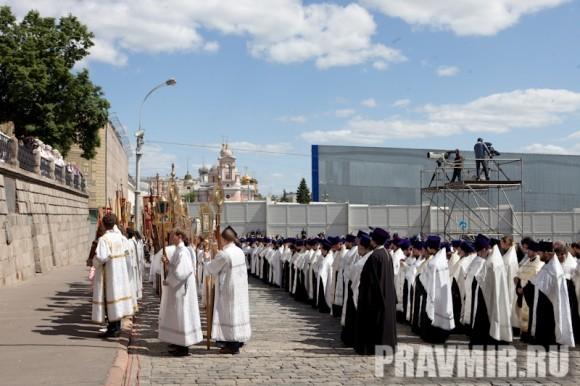 Молебен на Красной площади у Иверской. Фото Юлии Маковейчук (96)