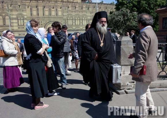 Молебен на Красной площади у Иверской. Фото Юлии Маковейчук (105)