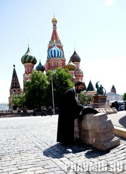 Молебен на Красной площади у Иверской. Фото Юлии Маковейчук (107)