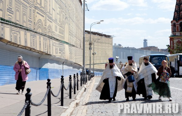 Молебен на Красной площади у Иверской. Фото Юлии Маковейчук (108)
