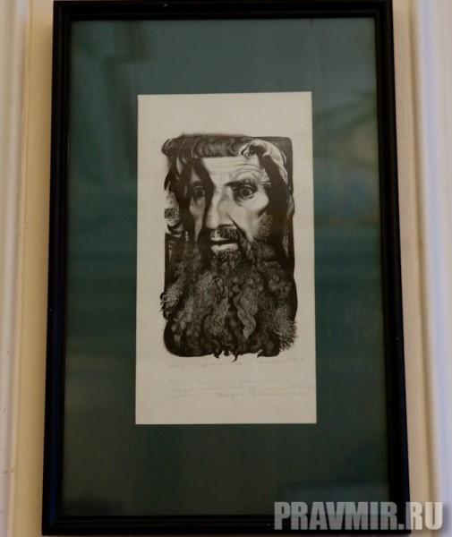 Джеймс-Леви Дарья, Отречение Петра. Бум.офорт, 30х20 см, 1994, Санкт-Перербург