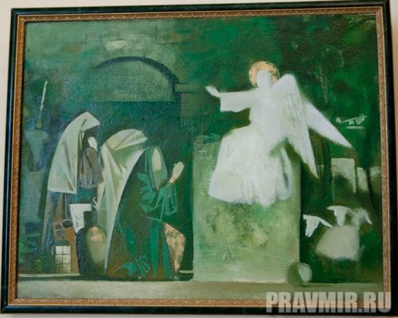 Стапанов Виктор, Жены мироносицы. Холст, масло, 70х55 см, 2011, Красноярск