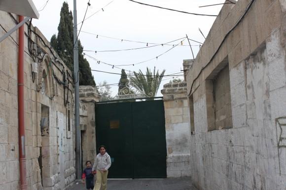Палестинские елеонские дети