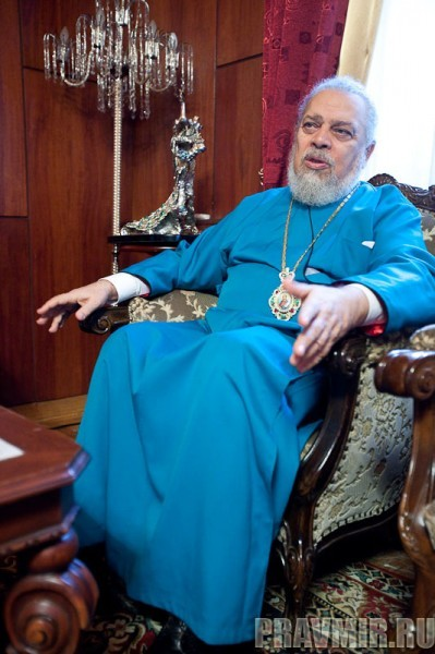 Архиепископ Нифон. Фото Юлии Маковейчук