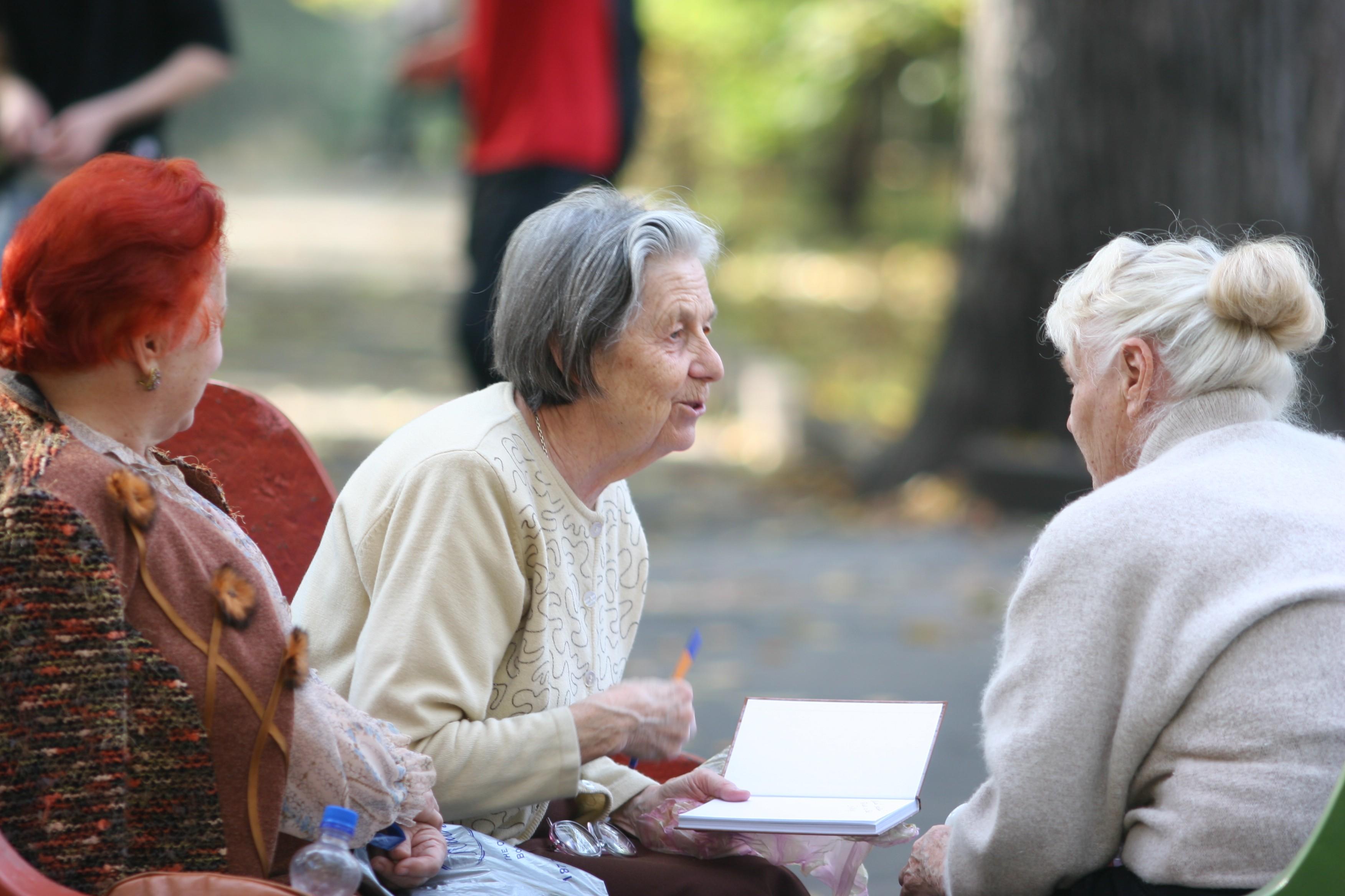 Старики и старушки развлечения дома 2 фотография