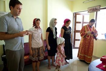 В городах Индии состоялись православные богослужения