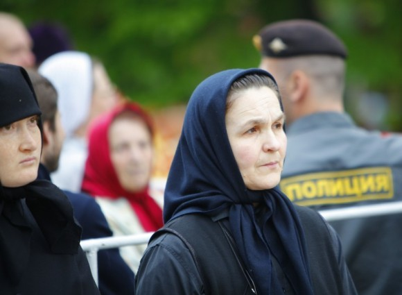Литургия на Бутовском полигоне. Фото Владимира Ходакова (52)