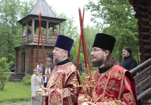 Литургия на Бутовском полигоне. Фото Владимира Ходакова (46)