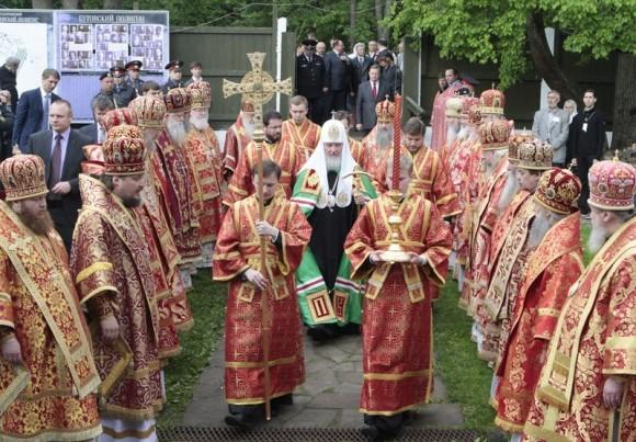 Литургия на Бутовском полигоне. Фото Владимира Ходакова (42)