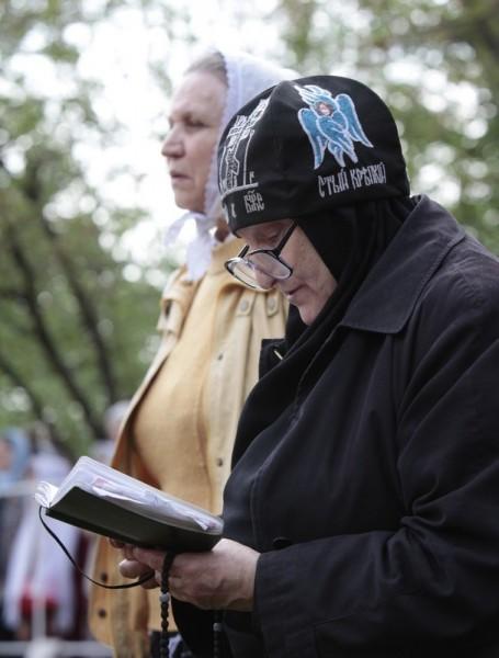 Литургия на Бутовском полигоне. Фото Владимира Ходакова (30)