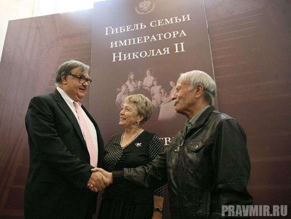 Директор ГАРФ Сергей Мироненко и Гелий Рябов