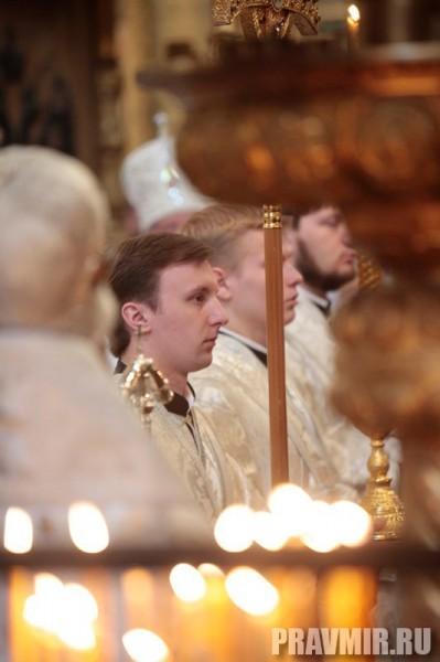 Патриаршая литургия в Кремле и молебен у храма Василия Блаженного. Фото Владимира Ходакова (18)