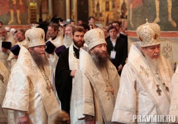 Патриаршая литургия в Кремле и молебен у храма Василия Блаженного. Фото Владимира Ходакова (25)